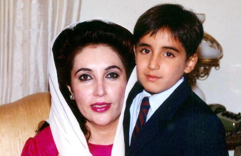 File photo of Benazir Bhutto with Bilawal Bhutto | BBhuttoZardari/Twitter